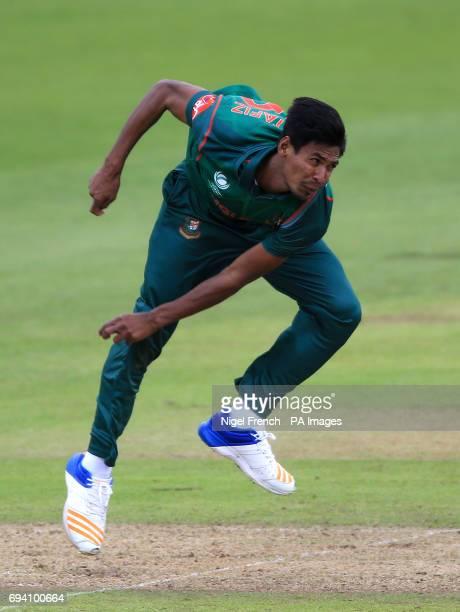 Bangladesh's Mustafizur Rahman during the ICC Champions Trophy Group A match at Sophia Gardens Cardiff