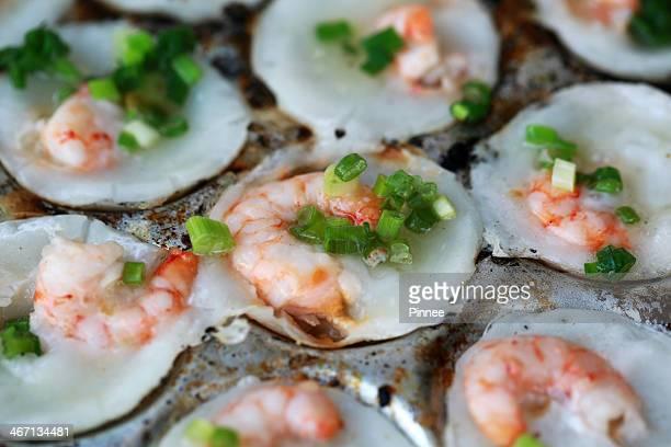 Banh Khot, Fresh shrimp rice cake, Can Gio,Vietnam