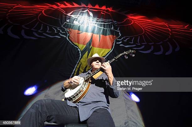 Banjo Player performs the Intro at Olympiahalle on November 13 2013 in Munich Germany