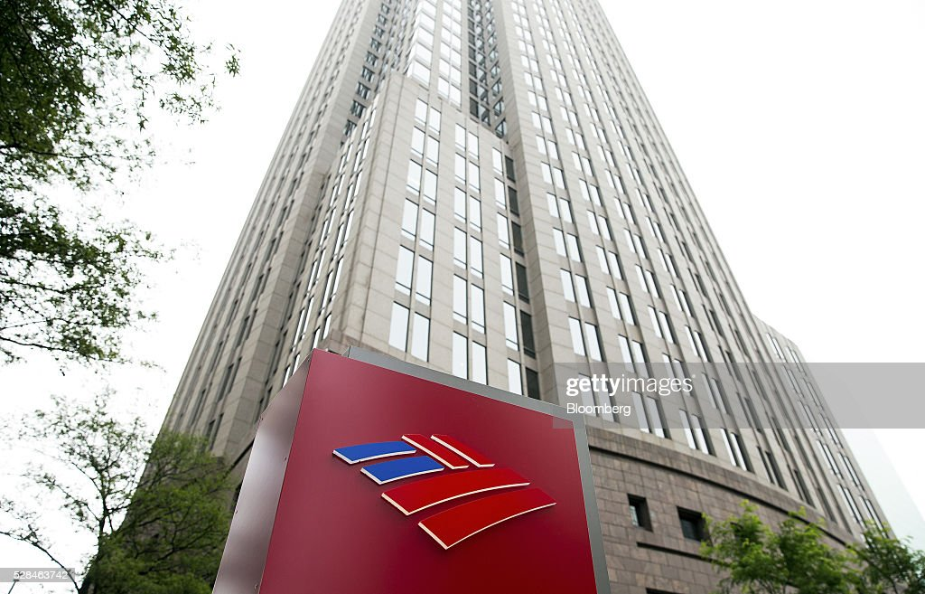 Bank Of America Headquarters As Revenue Seen Declining In 2016 | Getty ...