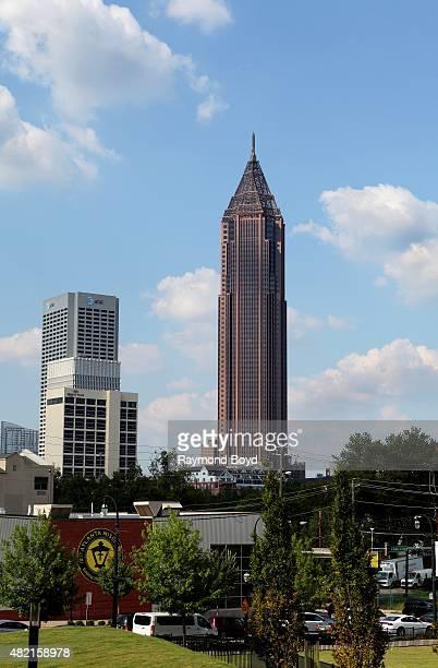 Bank Of America Plaza on July 17 2015 in Atlanta Georgia
