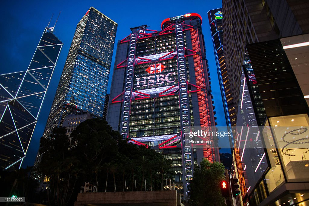 Holdings plc headquarters and branch as company announces first quarter earnings getty images - Hsbc hong kong office address ...