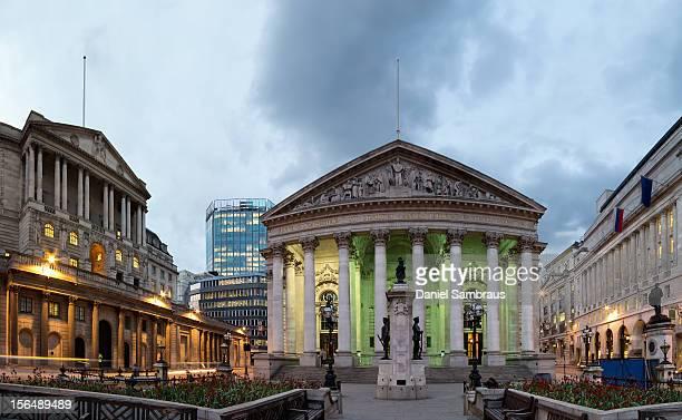 Bank of England and Royal Exchange