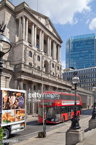 Bank of England. London : Stock Photo