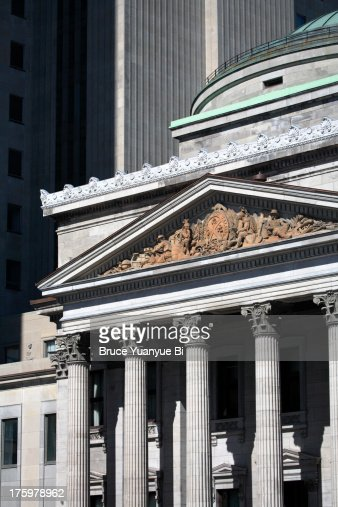 Bank of montreal head office building foto de stock getty images - Lonely planet head office ...