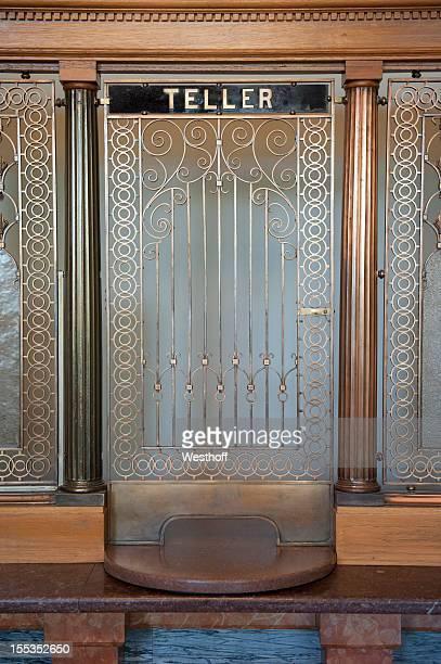 Bank Teller Window
