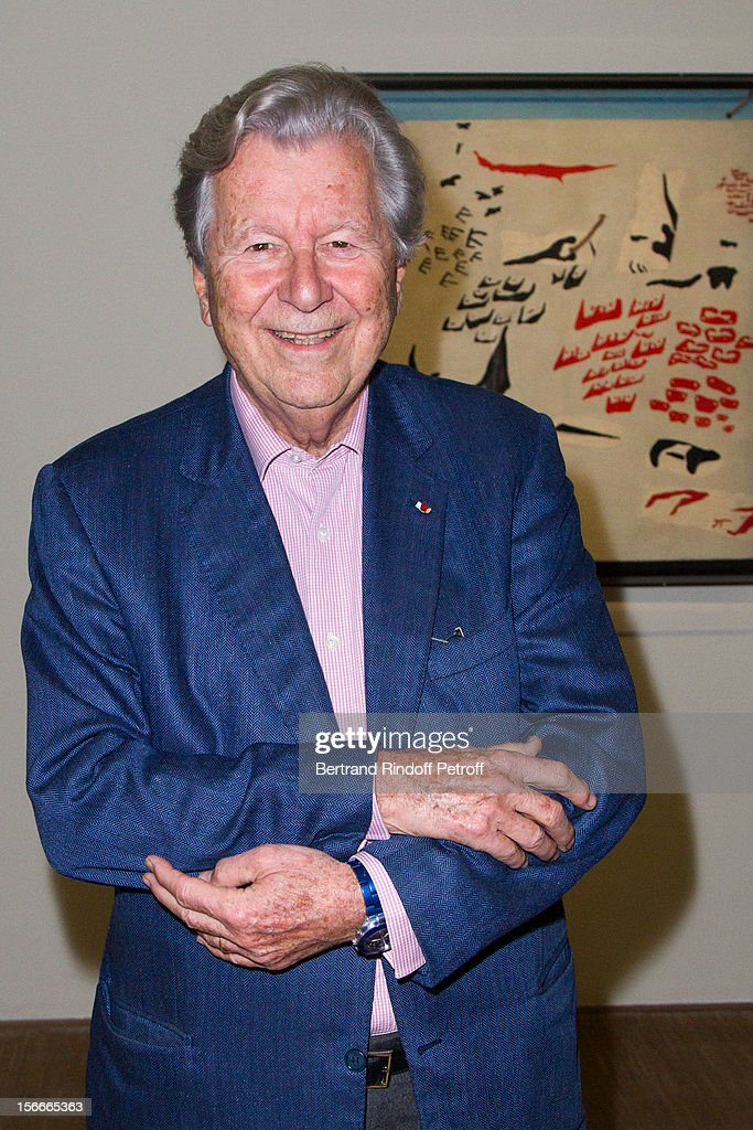 Banker Bruno Roger attends Dali Private Exhibition Preview at Centre Pompidou on November 18, 2012 in Paris, France.