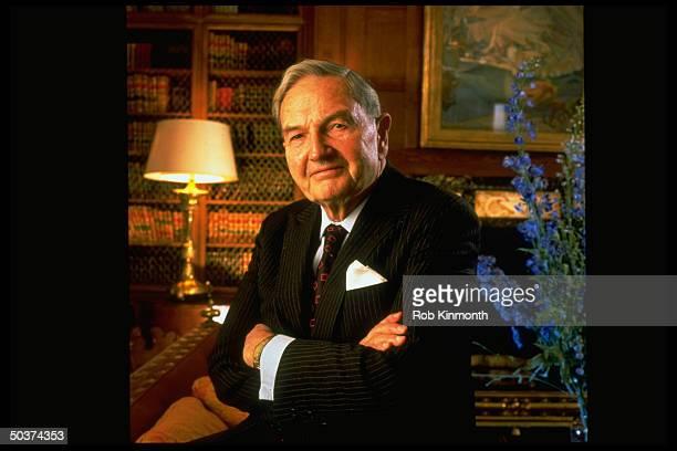 Banker David Rockefeller