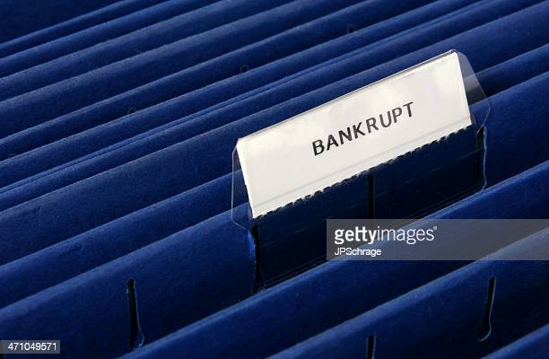 Bankrupt on a File Folder