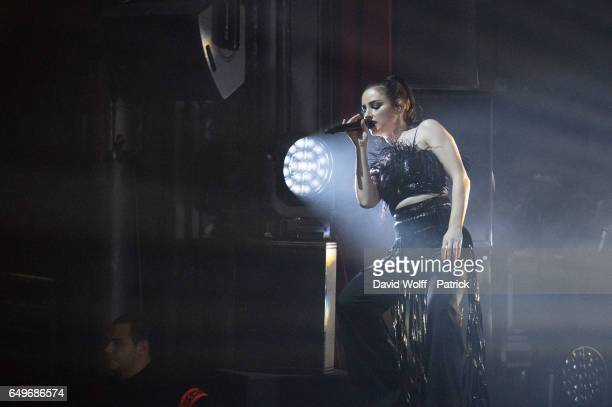 Banks performs at La Cigale on March 8 2017 in Paris France