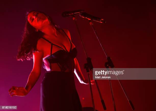 Banks performs at the Astor Theatre on July 18 2017 in Perth Australia