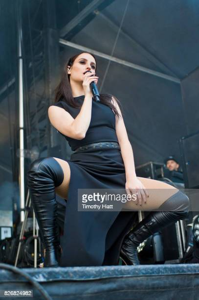 Banks performs on Day Three of Lollapalooza at Grant Park on August 5 2017 in Chicago Illinois