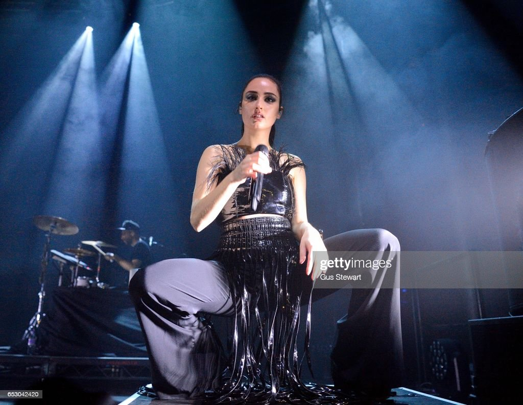 Banks performs on stage at The Roundhouse on March 13, 2017, in London, United Kingdom