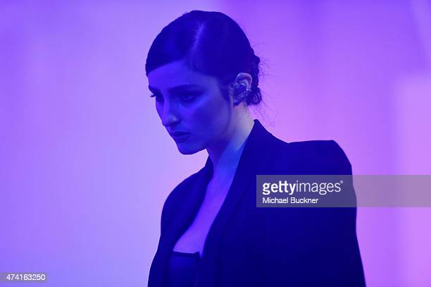 Banks performs onstage at the 6th annual ELLE Women In Music celebration presented By eBay Hosted by Robbie Myers with performances by Alanis...