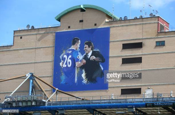 Banner during the Premier League match between Chelsea and Sunderland at Stamford Bridge London England on 21 May 2017