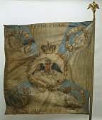 Banner of the Semenovsky LifeGuards Regiment after 1825 Found in the collection of State Hermitage St Petersburg