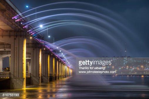 Banpo Bridge - Seoul, Korea