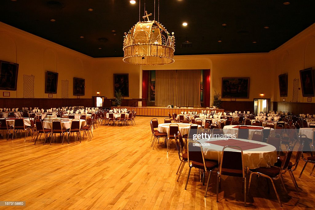 Banquet Hall : Stock Photo