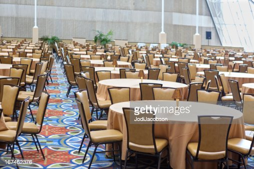 Banquet Meeting Hall table and chairs