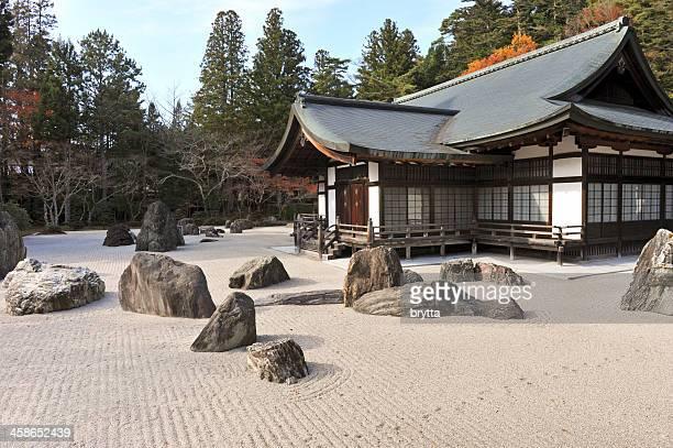 Banryutei Rock garden in the Kongobuji temple