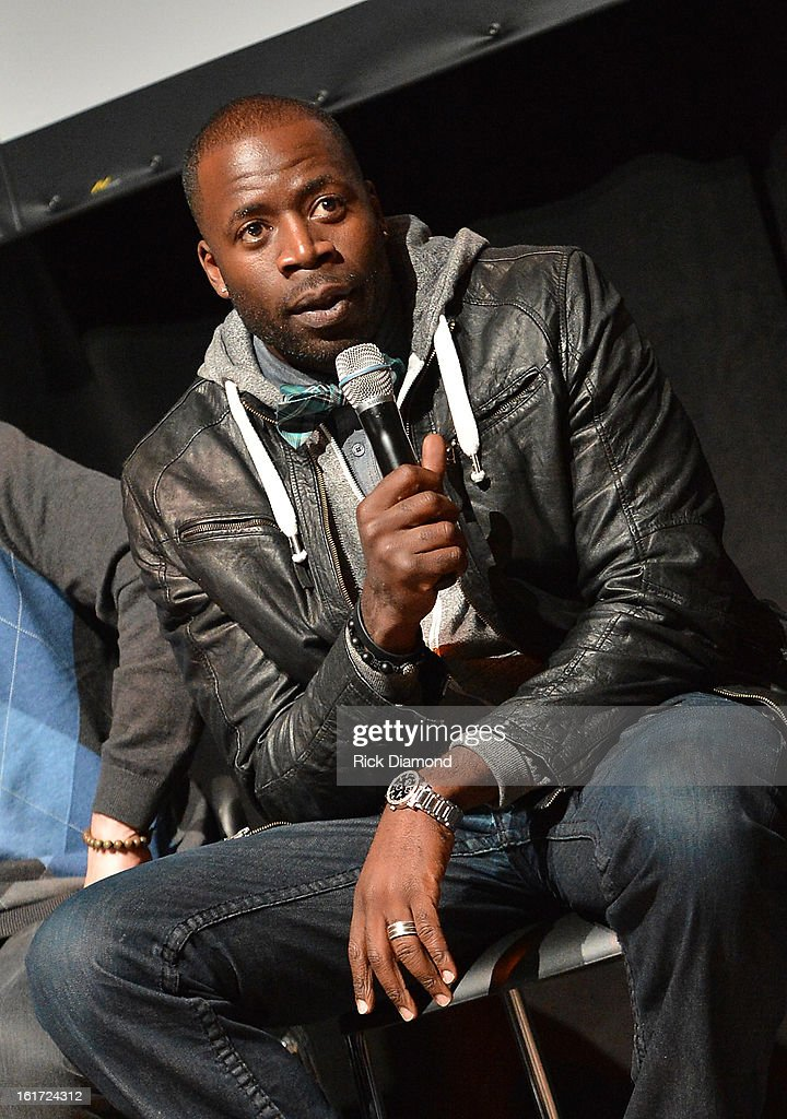 'Banshee' cast member Demetrius Grosse (Emmett Yawners) attends Savannah College of Art and Design's aTVfest at Opera Atlanta on February 14, 2013 in Atlanta, Georgia.