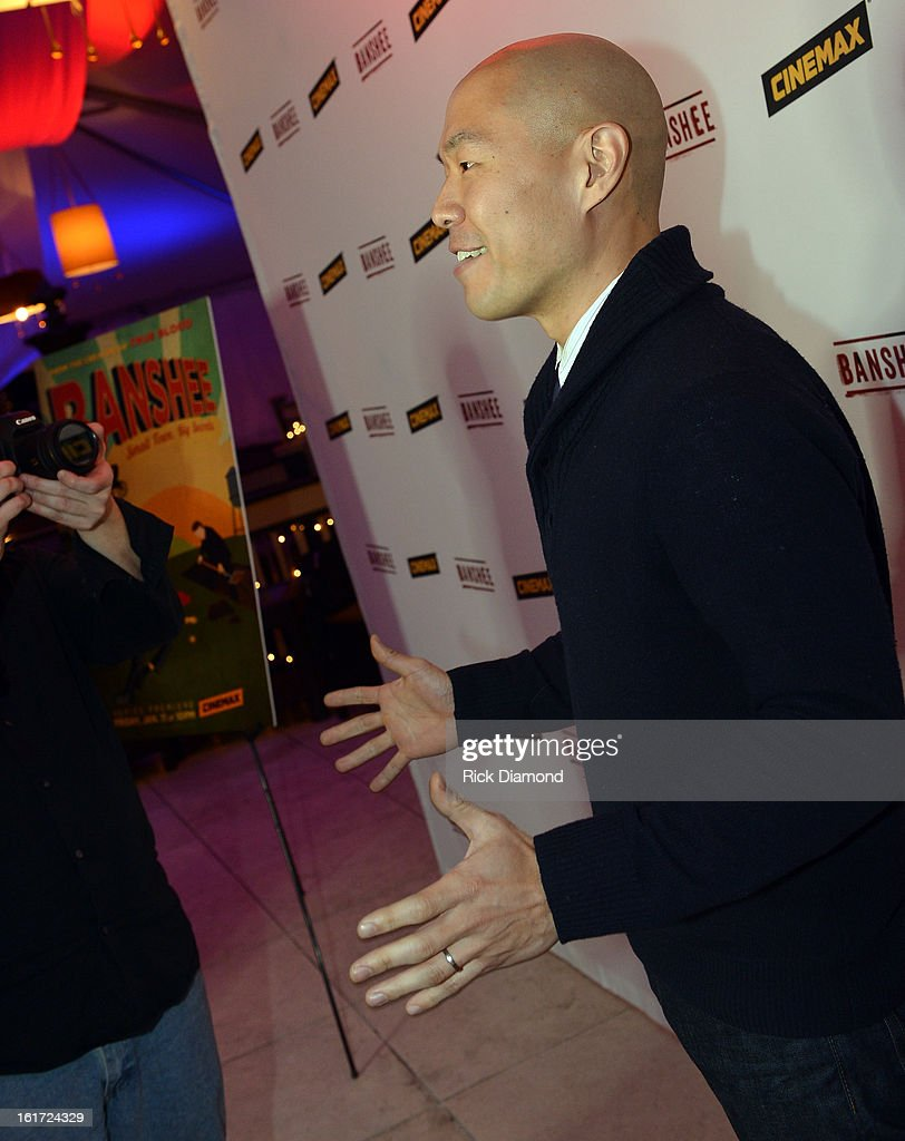 'Banshee' cast member Hoon Lee (Job) attends Savannah College of Art and Design's aTVfest at Opera Atlanta on February 14, 2013 in Atlanta, Georgia.