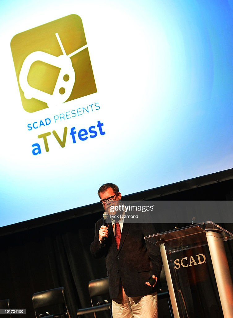 'Banshee' moderator SCAD's Professor Michael Chaney attend Savannah College of Art and Design's aTVfest at Opera Atlanta on February 14, 2013 in Atlanta, Georgia.