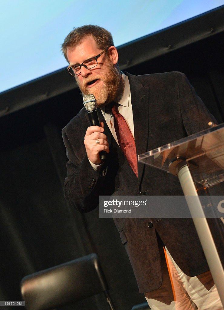 'Banshee' moderator SCAD's Professor Michael Chaney attend Savannah College of Art and Design's aTVfest at Opera Atlanta on February 14, 2013 in Atlanta, Georgia.