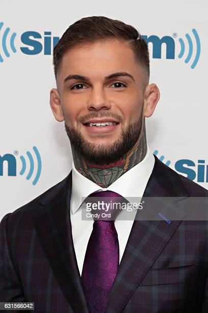 Bantamweight Champion/ mixed martial artist Cody Garbrandt visits the SiriusXM Studios on January 12 2017 in New York City