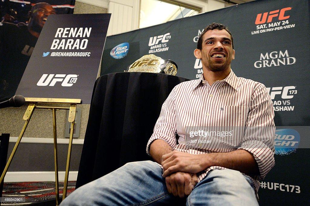 UFC 173 - Ultimate Media Day
