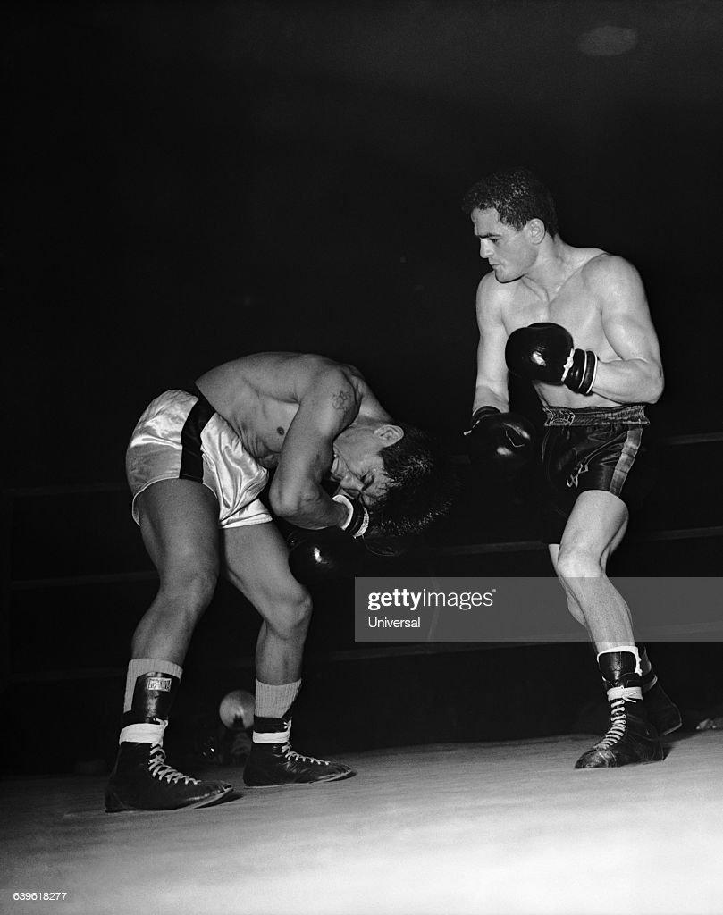 Bantamweight match between Tanny Campo and Alphonse Halimi