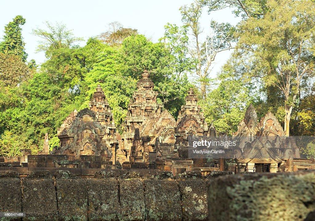 Banteai Srei, Siem Reap, Camboya : Foto de stock