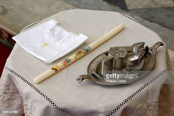 Baptism in a catholic church