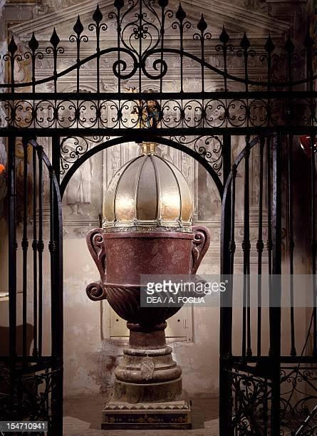 Baptismal Font Amalfi Cathedral Campania Italy 9th16th century