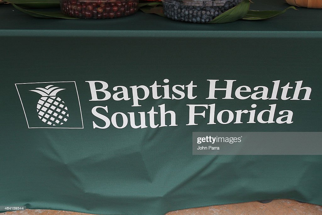 Baptist Health South Florida on display at Fun and Fit as a Family sponsored by Carnival featuring Goya Kidz Kitchen during 2015 Food Network Cooking...