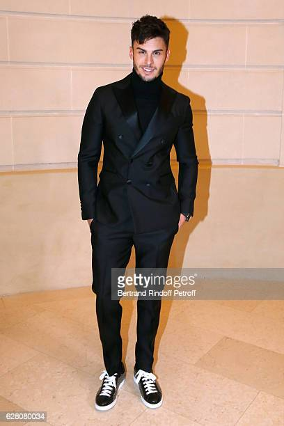 Baptiste Giabiconi attends the 'Chanel Collection des Metiers d'Art 2016/17 Paris Cosmopolite' Photocall at Hotel Ritz on December 6 2016 in Paris...