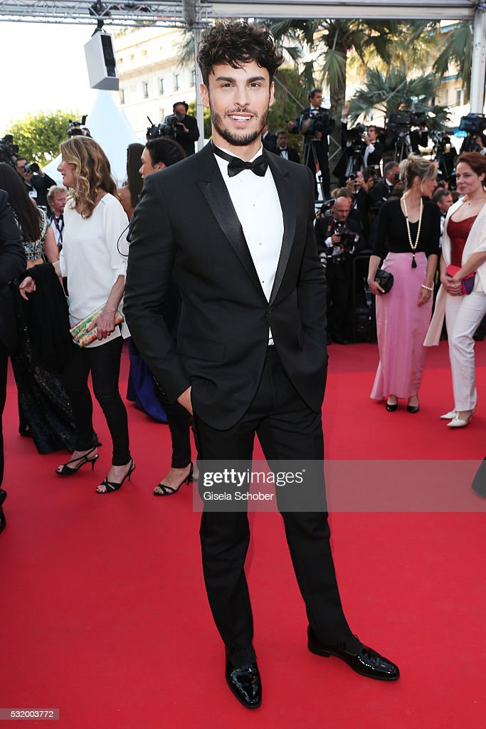 Baptiste Giabiconi attends the 'Julieta' premiere during the 69th annual Cannes Film Festival at the Palais des Festivals on May 17, 2016 in Cannes, France.