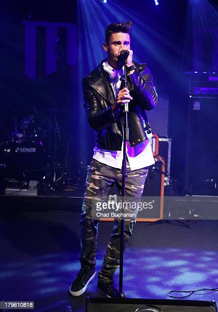 Baptiste Giabiconi performs at Music Meets Media 2013 at Grand Hotel Esplanade on September 5 2013 in Berlin Germany