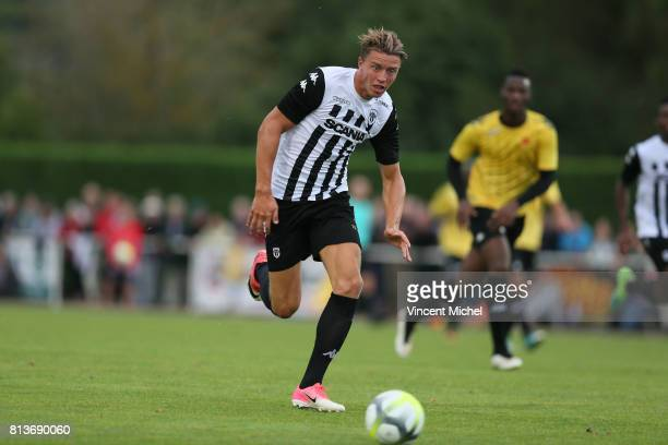 Baptiste Guillaume of Angers during the friendly match between Sco Angers and Us Orleans on July 12 2017 in Beaufort France