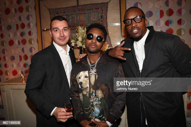 Baptiste Loiseau Zaytoven and Theo Brown Attend Remy Martin Presents Carte Blanche Merpins With Cellar Master Baptiste Loiseau And Super Producer...