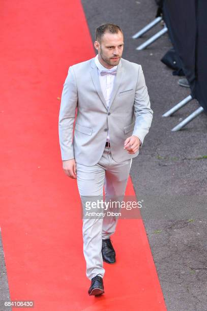 Baptiste Reynet goalkeeper of Dijon during the ceremony for the UNFP Trophy Awards on May 15 2017 in Paris France