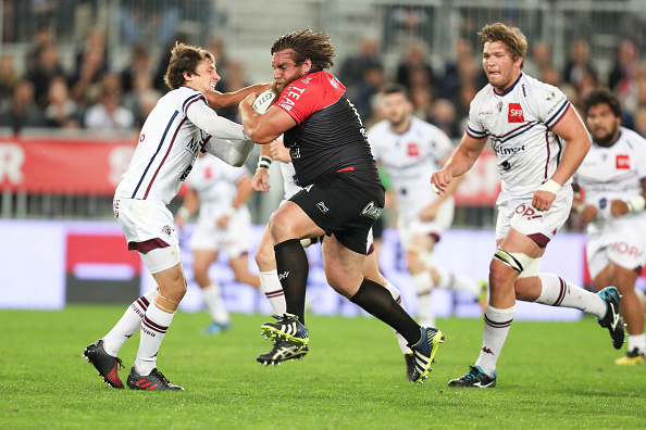 Union Bordeaux Begles v Rugby club Toulonnais - French Top 14 : News Photo