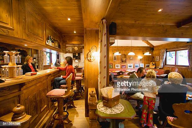 Bar and Cafe at Hotel Macchi in Chatel