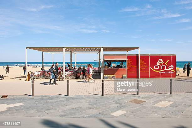 Bar at Barceloneta Beach