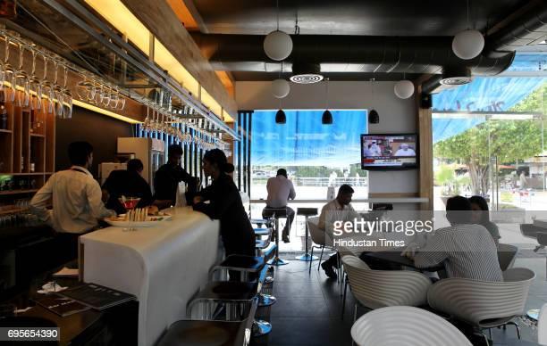 Bar at Domestic Airport at Mumbai Domestic Airport