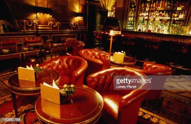 Bar at Hotel Meurice.