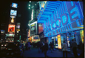 Bar Code is a video arcade bar in Times Square where DJ's play music at night for clubgoers