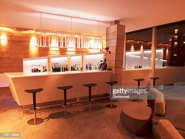 Comptoir de Bar de l'hôtel de luxe