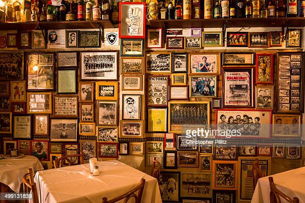 Bar dedicated to soccer memorabilia