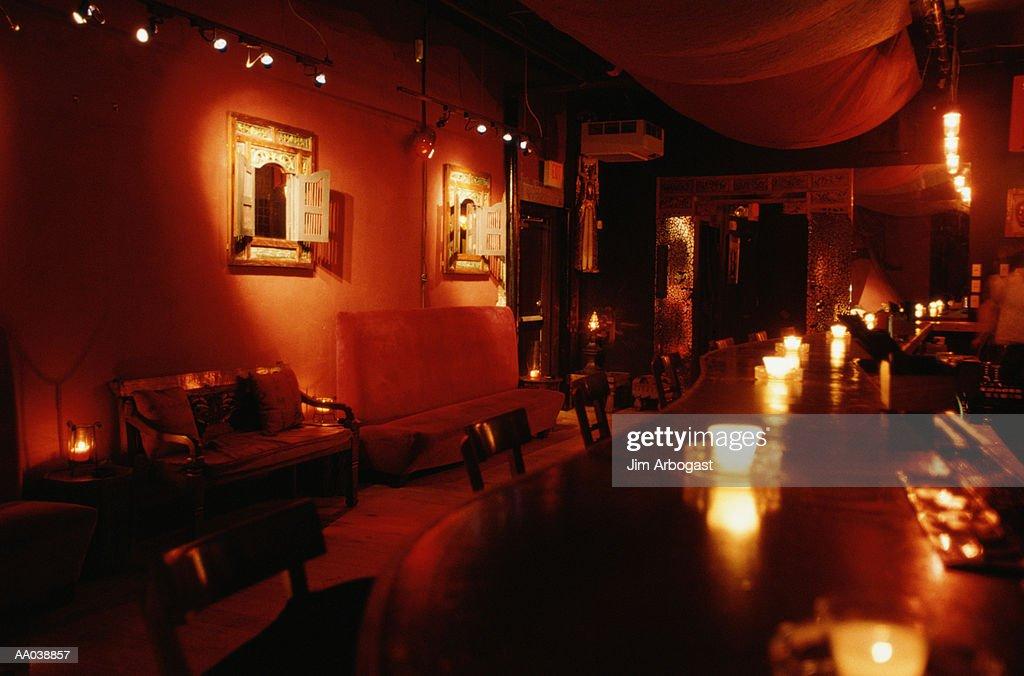 Bar of Nightclub : Stock Photo